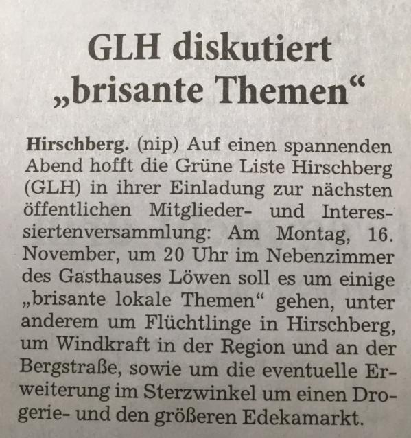 GL Hirschberg 16.11.2015