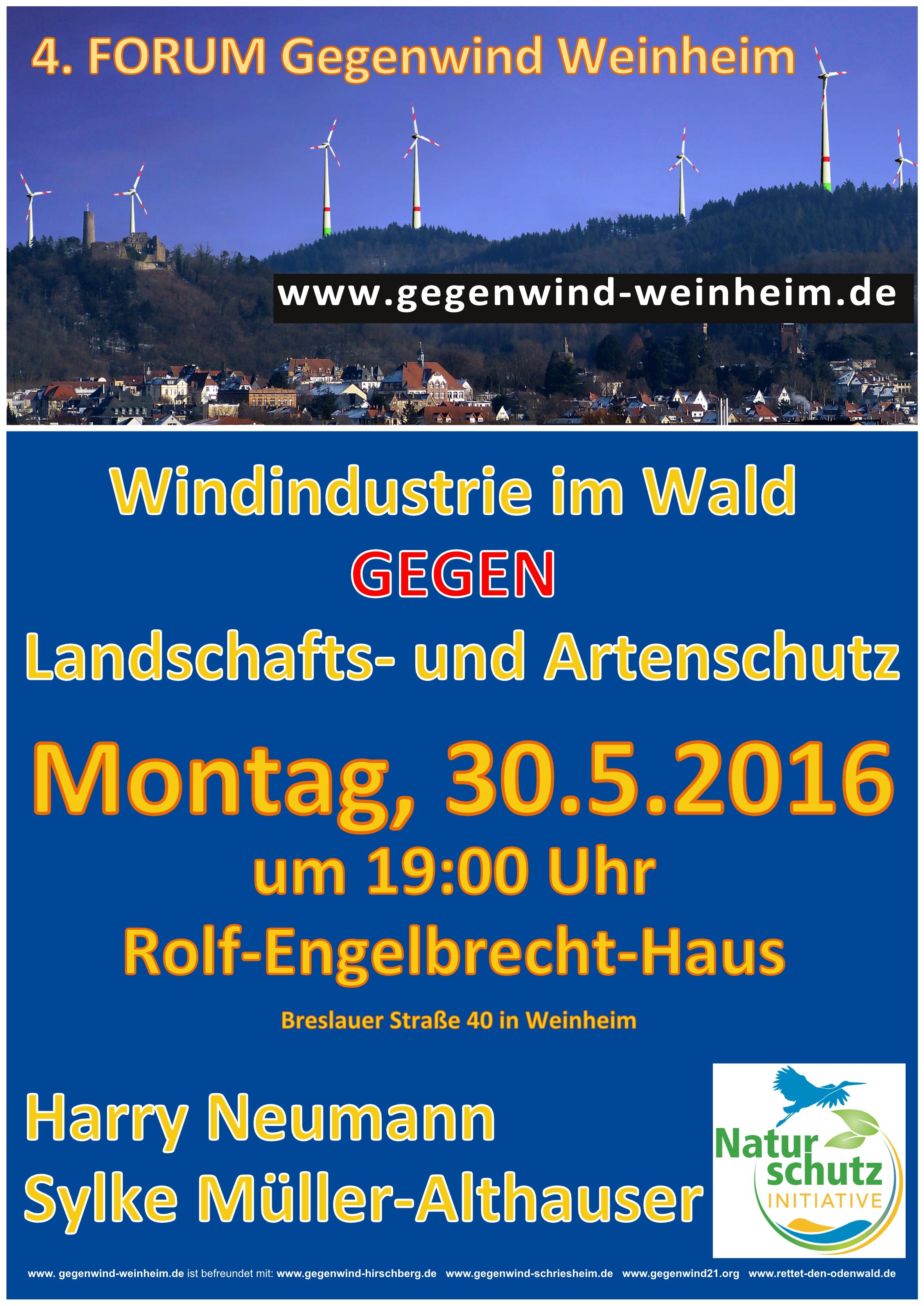 4 Forum Gegenwind Weinheim am 30 5 2016