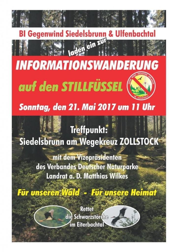 Stilfüssel_Infowanderung 20170521